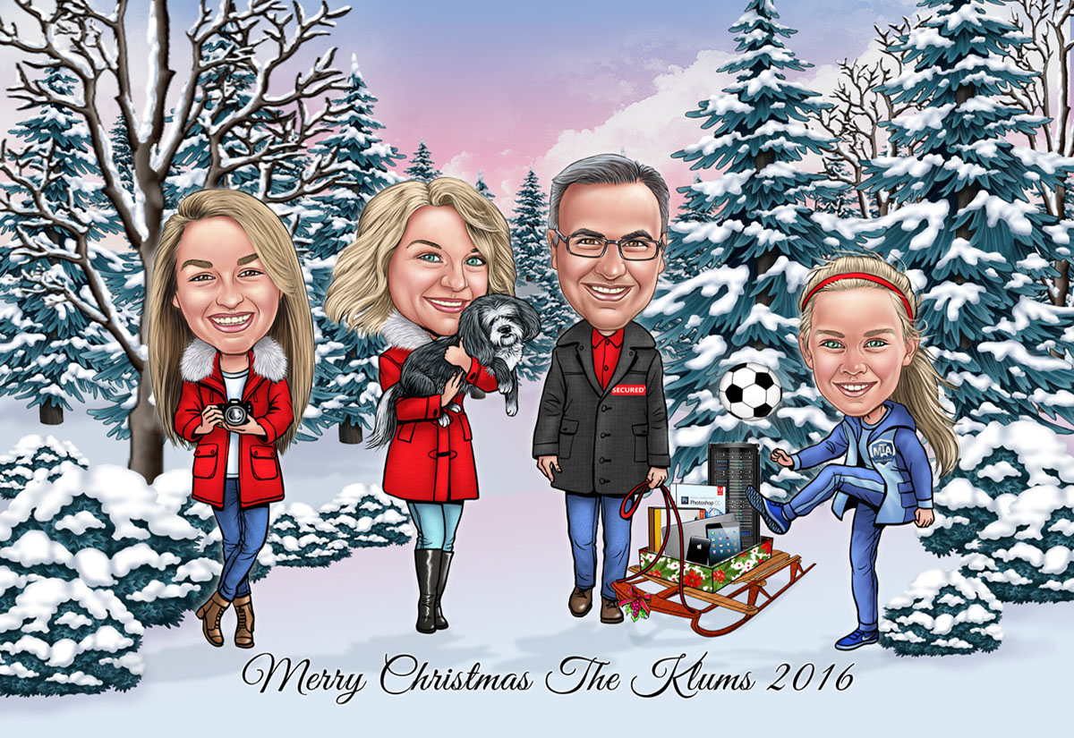 Holiday Caricatures
